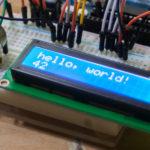 Подключение текстового LCD дисплея к Arduino