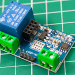 Релейный модуль HW-655 с UART и ESP8266